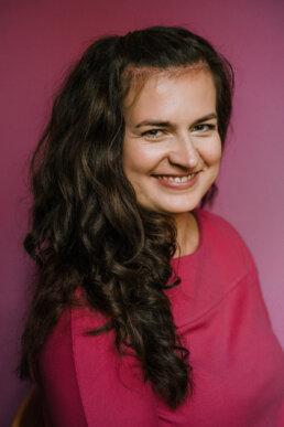 na zdjęciu Agnieszka Kosecka Wierzejska członek zespołu programowego festiwalu MD